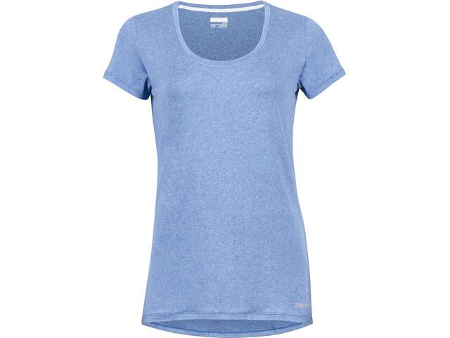 Marmot All Around T-shirt Dames, blauw